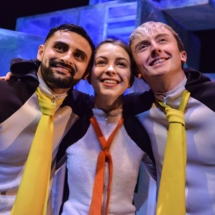 Penguins2019_Dom Coffey,Olivia Van Niekerk & Osian Meilir_credit Robert Day (3)